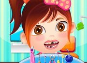 Baby Carmen at Dentist