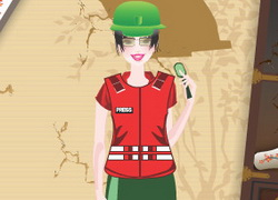 War Reporter Dress Up