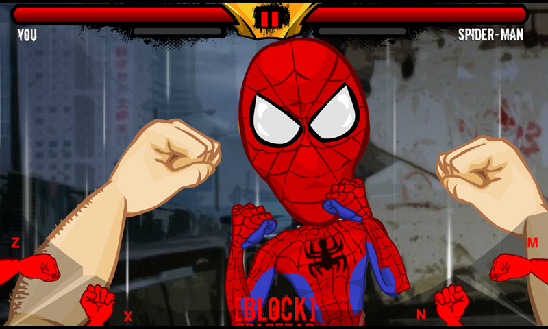 Spiderman Brutal fight