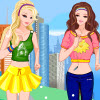 Barbie and Ellie Jogging Dressup