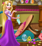 Rapunzel room cleaning